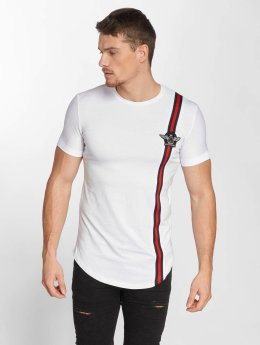 John H T-Shirty Wing Logo bialy