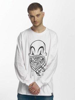 Joker Camiseta de manga larga Clown Brand blanco