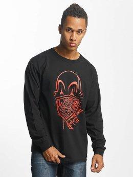 Joker Pitkähihaiset paidat Clown Brand musta