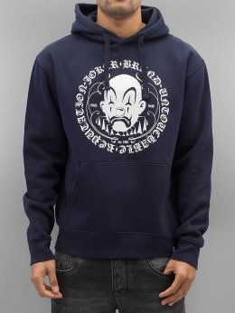 Joker Sweat capuche Circle Clown bleu