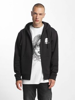Joker Sweat capuche zippé Cali noir