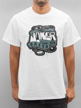Joker T-paidat 69 Brand valkoinen