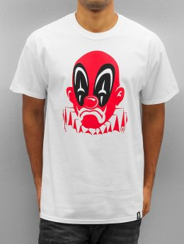 Joker T-paidat Deadpool Clown valkoinen