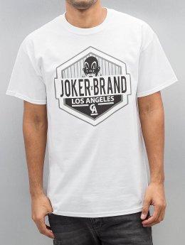 Joker T-Shirt LA CA blanc