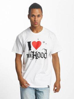Joker T-Shirt Hood Love blanc