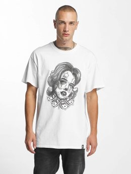 Joker T-Shirt Money Girl blanc