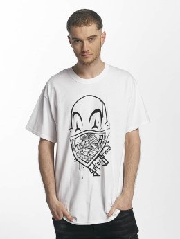Joker T-Shirt Clown Brand blanc