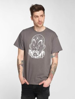 Joker T-Shirt Mexico Clown grau