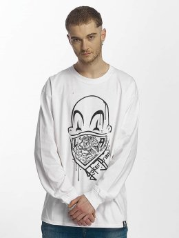 Joker T-Shirt manches longues Clown Brand blanc