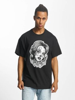 Joker T-shirt Money Girl nero