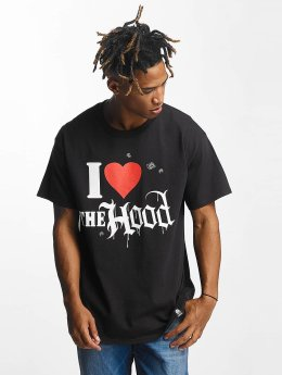Joker T-Shirt Hood Love noir