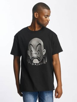Joker T-Shirt Basic Clown schwarz