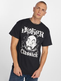 Joker T-shirt Classick Clown svart
