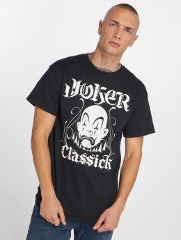Joker T-shirt Classick Clown svart