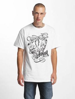 Joker T-Shirt Drama weiß