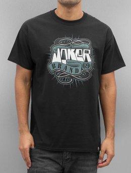 Joker t-shirt 69 Brand zwart