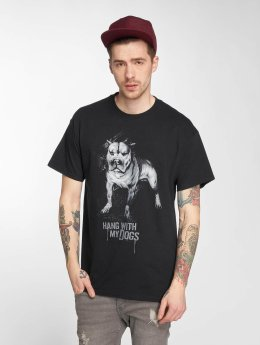 Joker t-shirt Dogs zwart