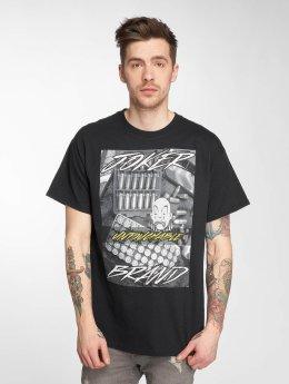 Joker t-shirt Bullet zwart