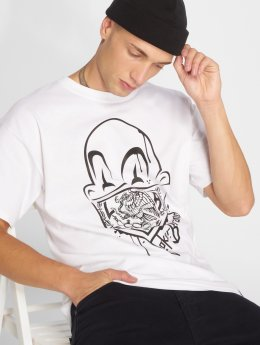Joker T-shirts Clown Brand hvid