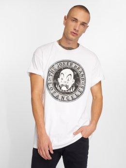 Joker T-skjorter Logo hvit