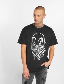 Joker T-skjorter Clown Brand svart