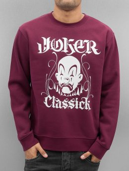 Joker trui Classick Clown rood