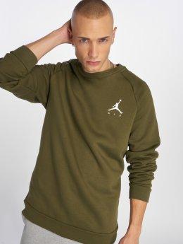 Jordan Пуловер Sportswear Jumpman Fleece оливковый