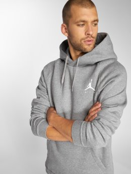 Jordan Пуловер Sportswear Jumpman Fleece серый