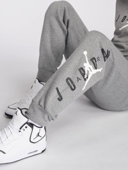 Jordan Спортивные брюки Sportswear Jumpman Air Graphic Fleece серый