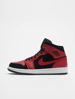 Jordan Baskets Air 1 Mid noir