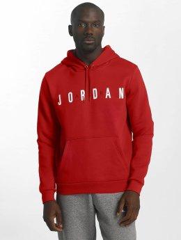 Jordan Hoodie Sportswear Flight Fleece Air red