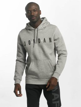 Jordan Hupparit Sportswear Flight Fleece Air harmaa