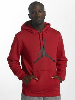 Jordan Hupparit Flight Fleece Jumpman Air punainen