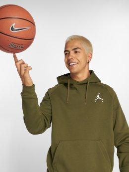 Jordan Jersey Sportswear Jumpman Fleece Sweatshirt oliva