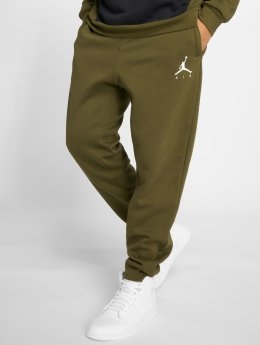 Jordan joggingbroek Sportswear Jumpman Fleece olijfgroen