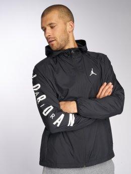 Jordan Kurtki przejściowe Sportswear Wings czarny