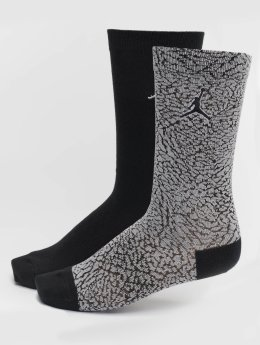 Jordan Ponožky 2-Pack Elephant Crew šedá