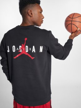 Jordan Männer Pullover Jumpman Air Graphic Fleece in schwarz