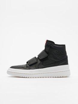 Jordan Sneaker Air 1 Retro High Double Strap nero