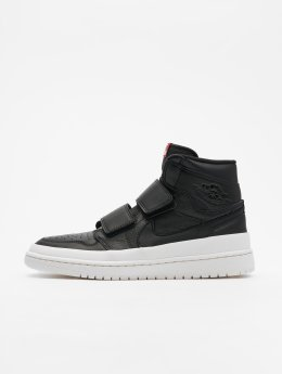 Jordan Sneaker Air 1 Retro High Double Strap schwarz