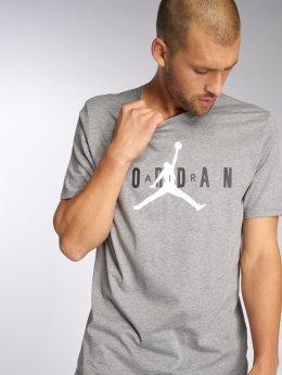 Jordan T-shirt Sportswear Brand 5 grigio