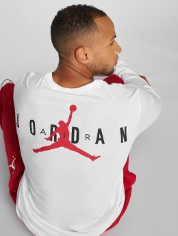 Jordan T-Shirt manches longues Sportswear Air Jumpman blanc