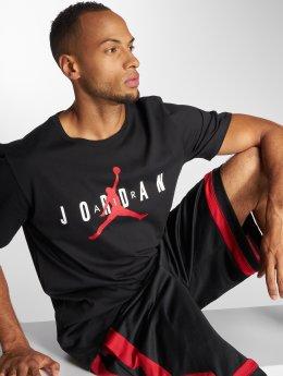 Jordan T-shirt Sportswear Brand 5 nero