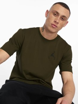 Jordan t-shirt Sportswear Jumpman Air Embroidered olijfgroen
