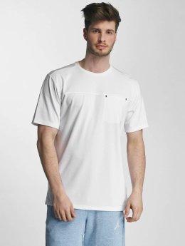 Jordan T-Shirty 23 Lux Classic Pocket  bialy