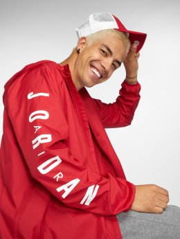 Jordan Transitional Jackets Sportswear Wings red