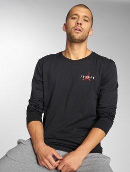 Jordan Tričká dlhý rukáv Sportswear Air Jumpman èierna