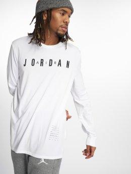 Jordan Tričká dlhý rukáv Ho 1 biela