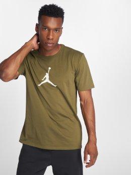 Jordan Tričká JMTC 23/7 Jumpman Basketball olivová