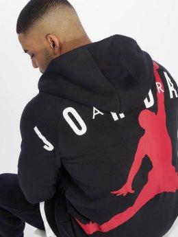 Jordan Zip Hoodie Sportswear Jumpman Air čern